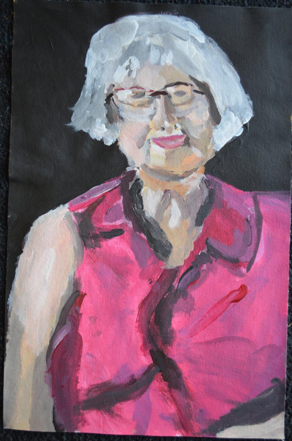 Allyson Hamblett, Mum, 2015