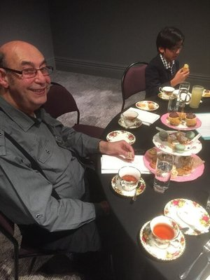 Eddie at High Tea