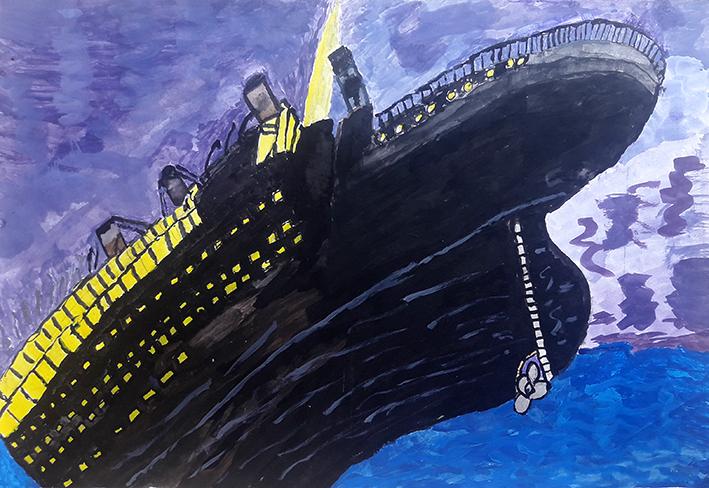 Ela Tukuhaukaua - The Sinking Ship 'Titanic' web.jpg