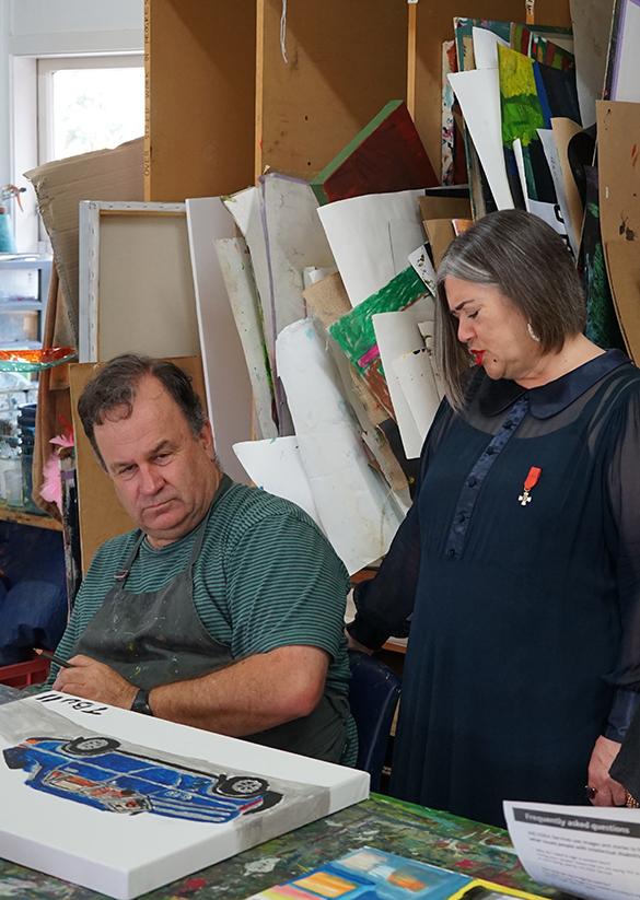 Dame Denise and Trevor Bull