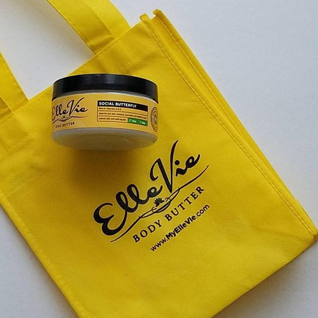 Repost from @hereyesherview Loving this body butter by @elleviebody  The scent is called Social Butterfly. . . . . #bloggers #lbloggers #40sbloggers #blackblogger #blogger #melanin #dfw #bodybutter #lifestylebloggers #bloggerlife #HEHV #saturday