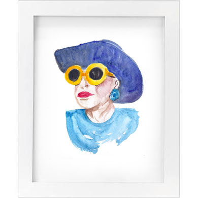 YELLOW SHADES PRINT   SALE!  $10