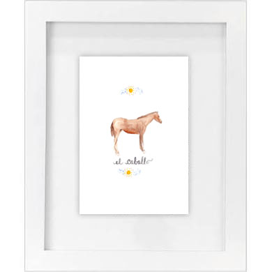el caballo print   SALE! $10