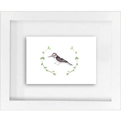 woodland woodpecker w/ garland print   SALE!  $10