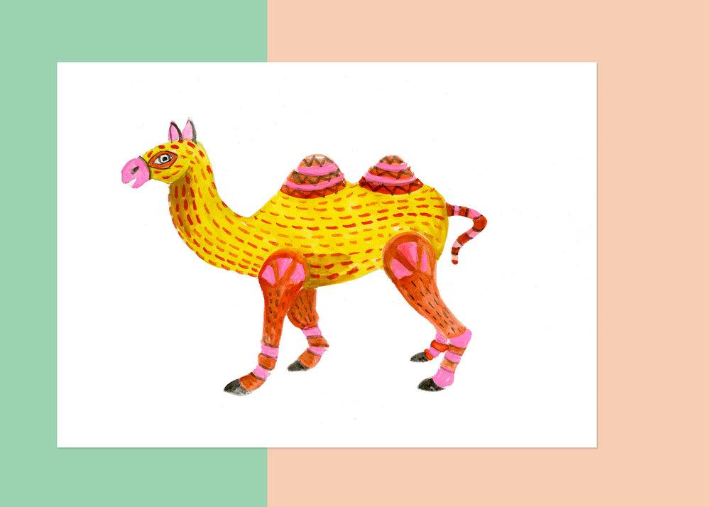 5 X 7 OAXACA CAMEL $50