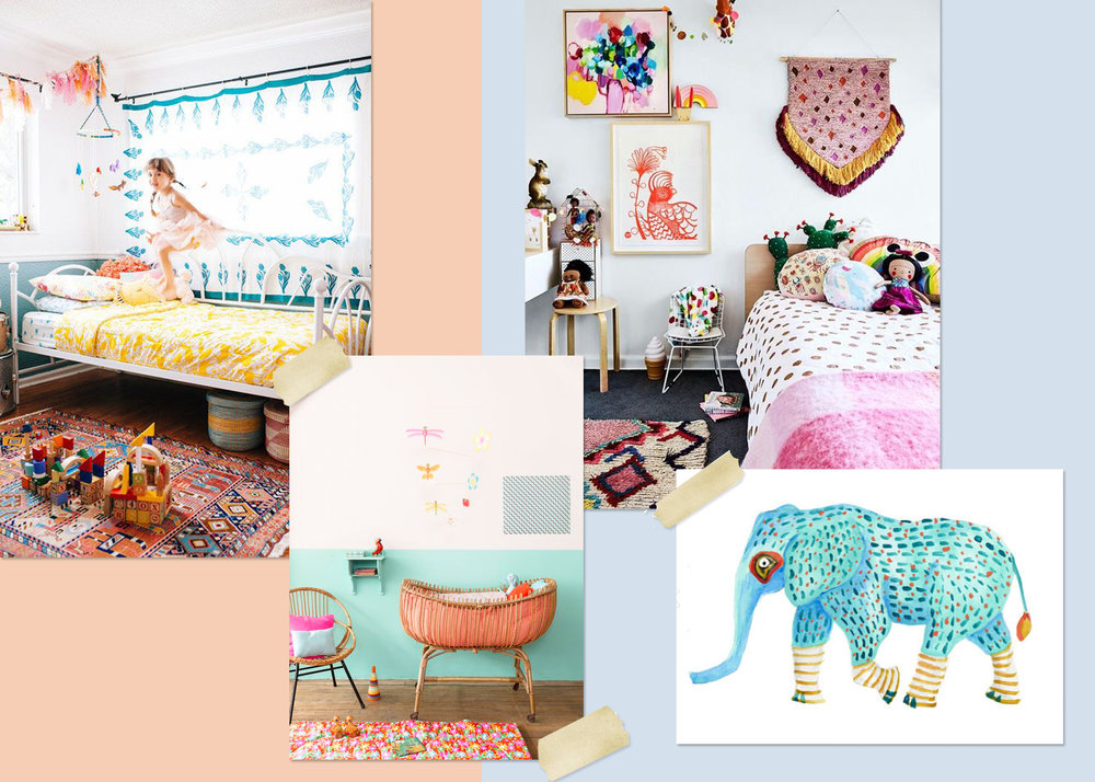 Get inspired! Check out our favorite mood boards for room decor!