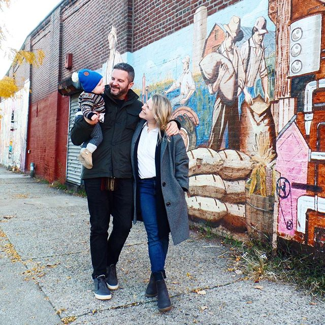 There are so many things to be thankful for this year. Top of the list is definitely these two! Here's wishing everyone a very Happy Thanksgiving! . . . . . . #brooklyn #redhook #family #thanksgiving #thankful #firstthanksgiving #1stthanksgiving #brooklynmom #brooklynmama