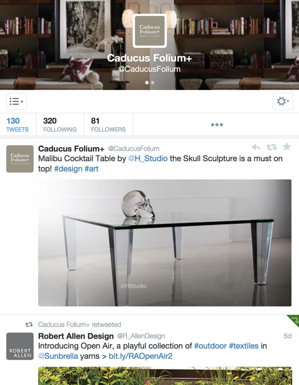 Caducus Folium Social Media