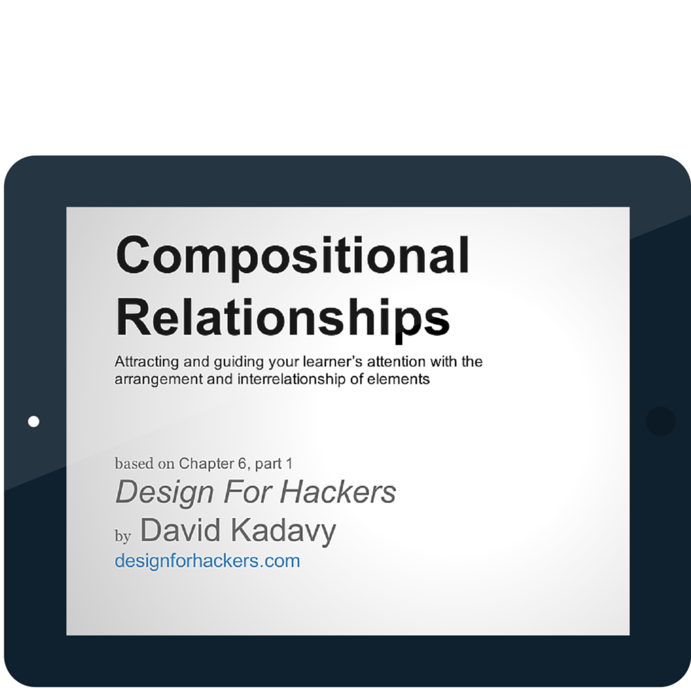 SCREENCAST: Compositional Relationships