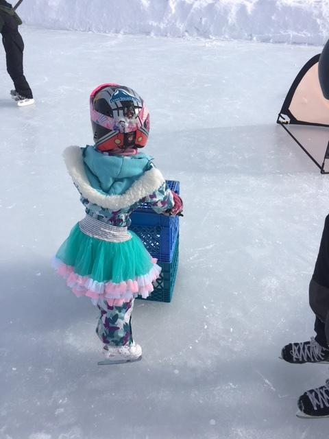 Veyo Kids, Mittyz at the ice rink