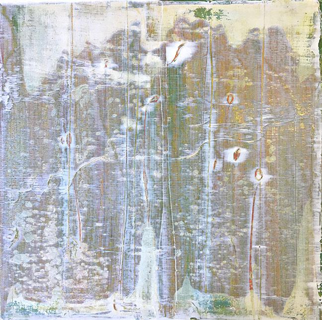 "'SnowSwept ', 16"" x 16"" x 2"", Acrylic On Canvas/Panel"