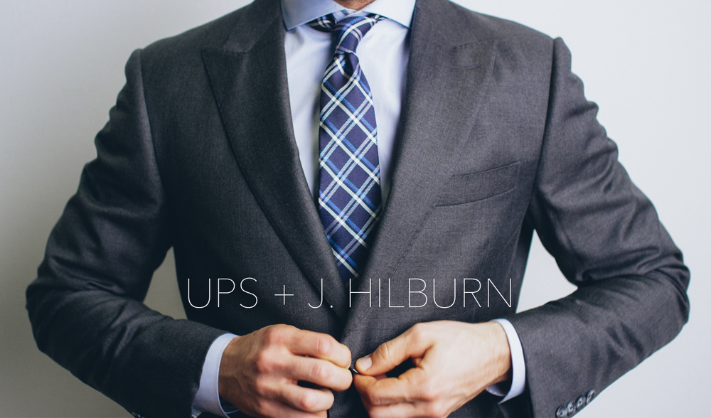 A Tailored Partnership  |  UPS + J. Hilburn
