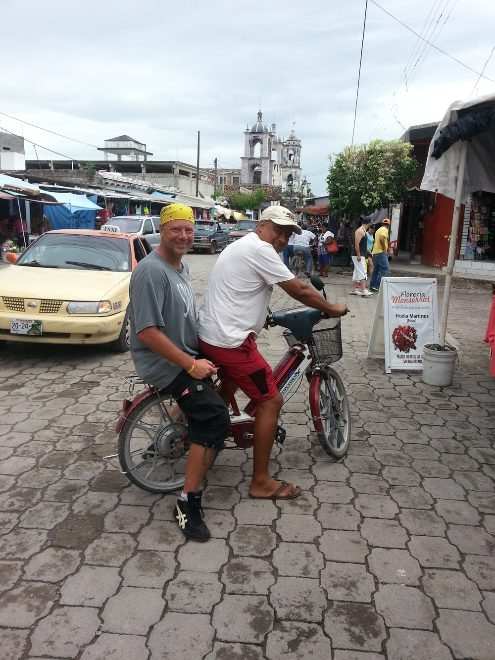 Horsing around...downtown San Blas