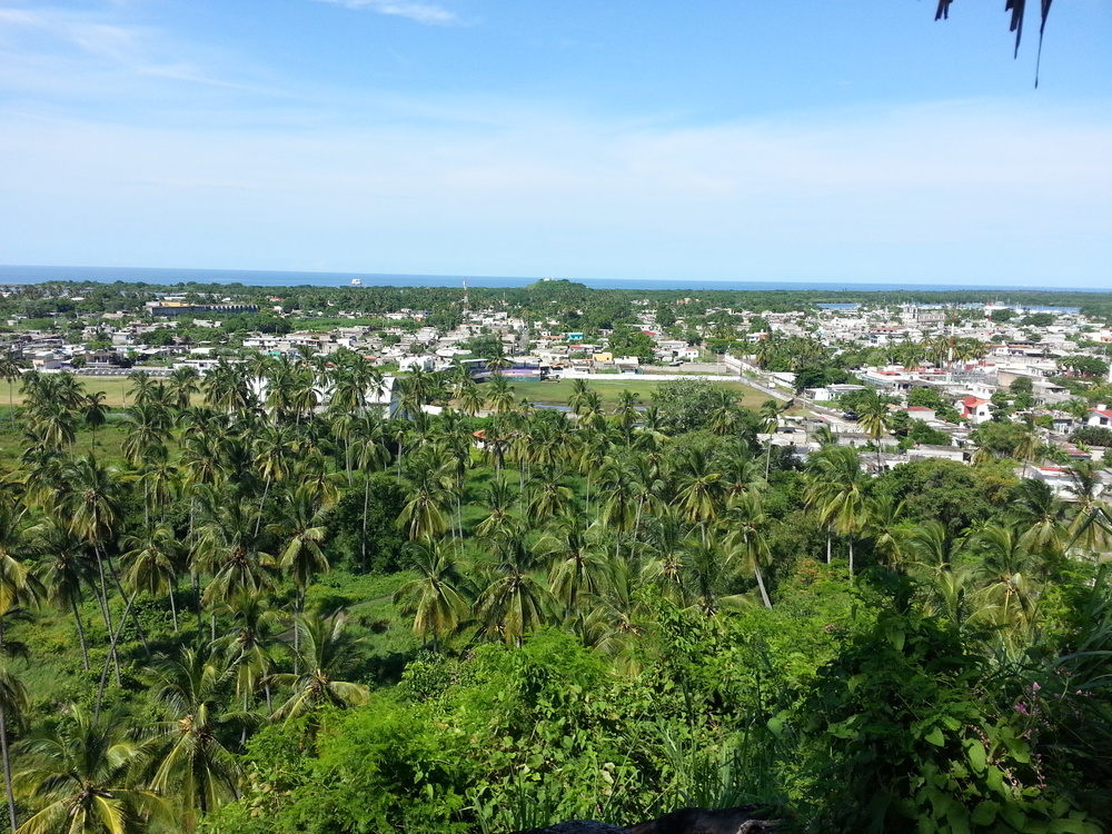 San Blas from the top of the hill...