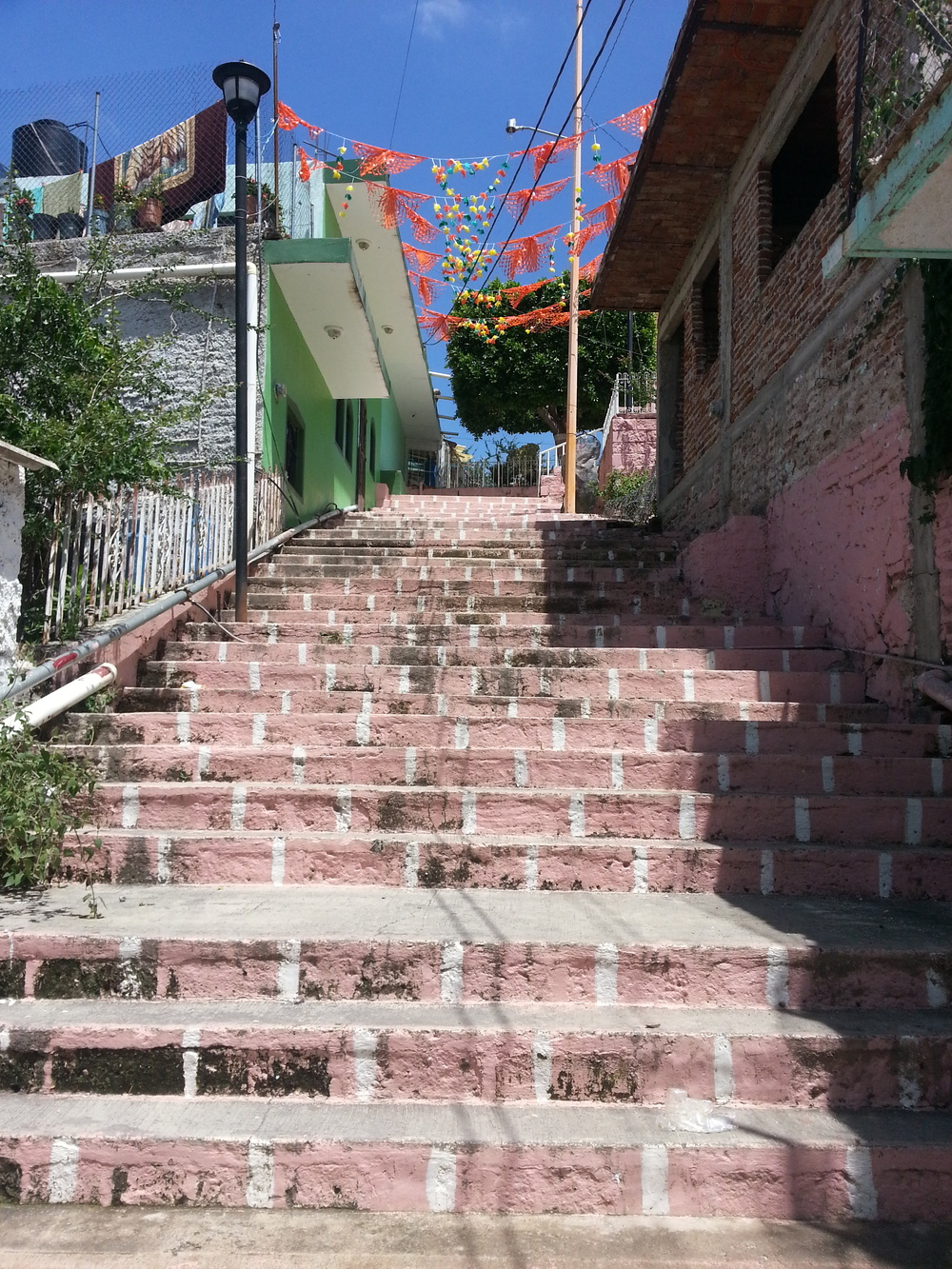 Steps to the church on the hill