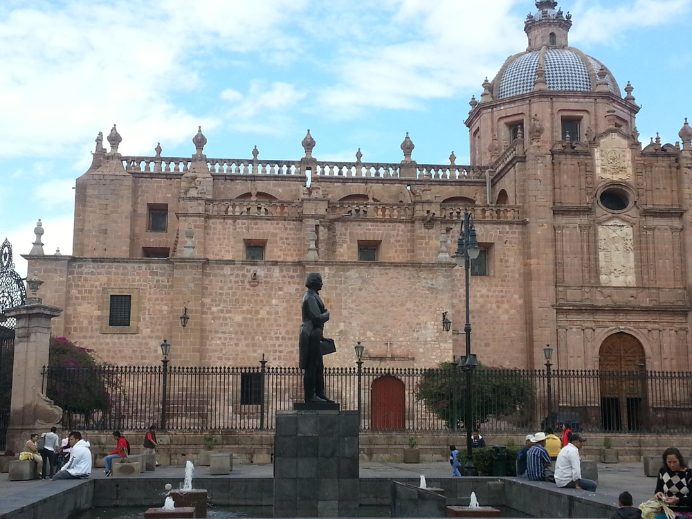 Morelia is an University town, many beautiful old buildings