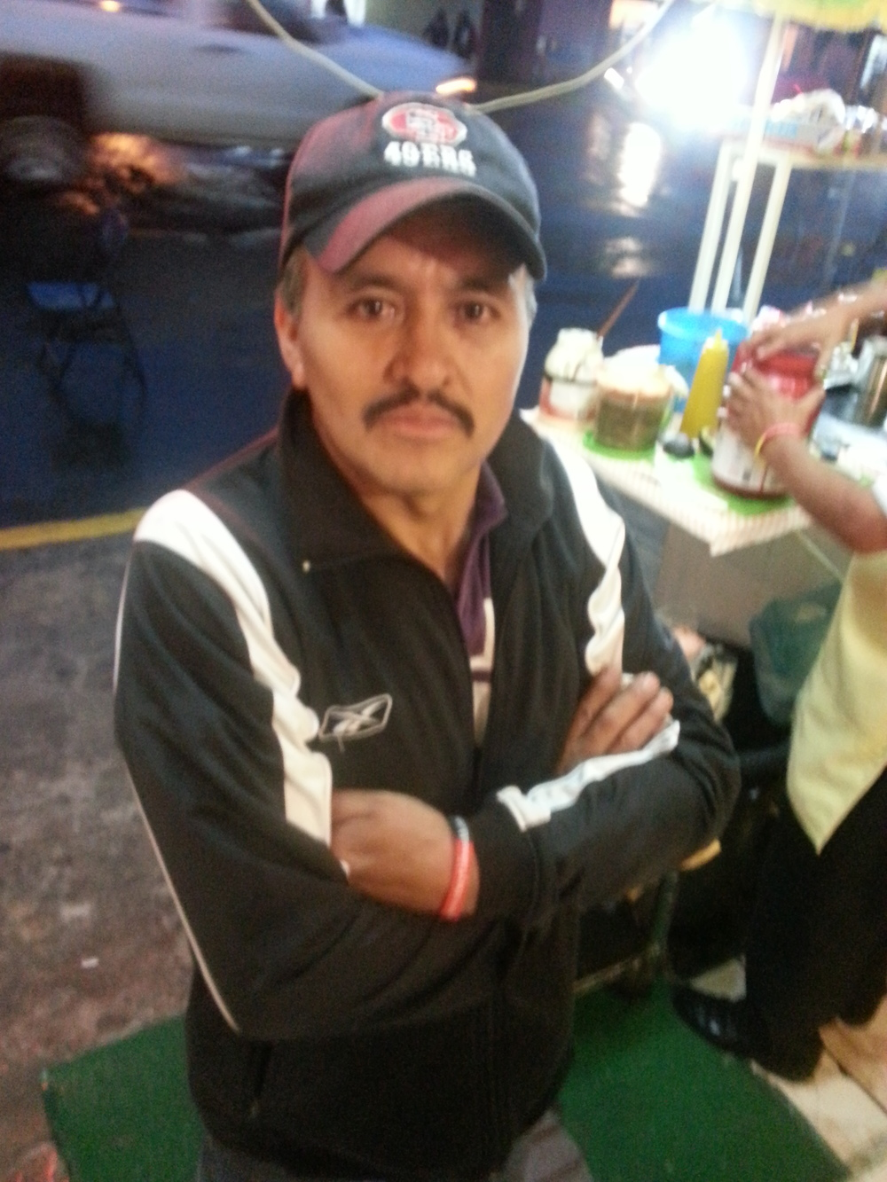 Mexican 49er fan...in Mexico.
