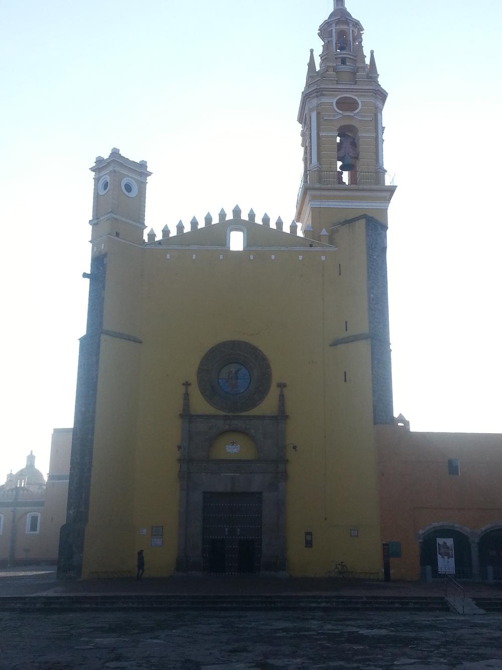 La Iglesia de Puebla