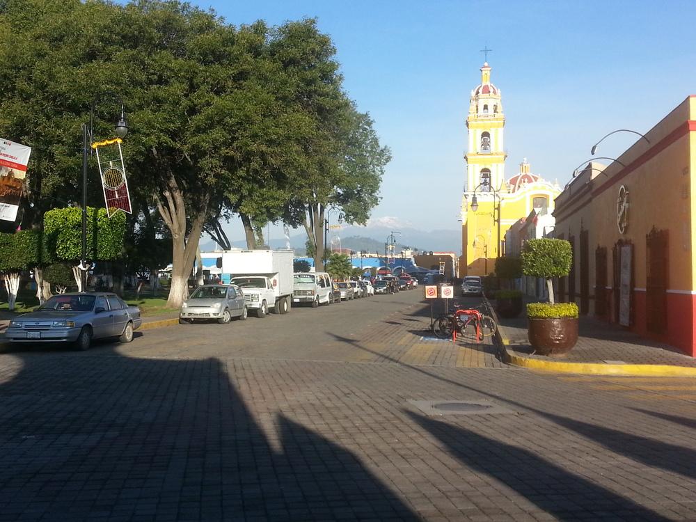 Old town Puebla