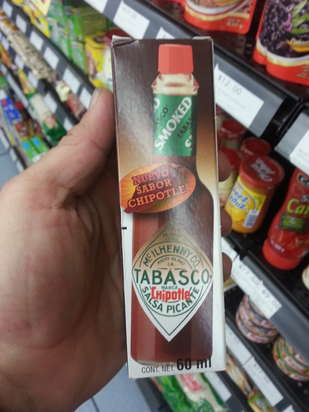 Does this Tabasco really come from the Tabasco region? Not sure...