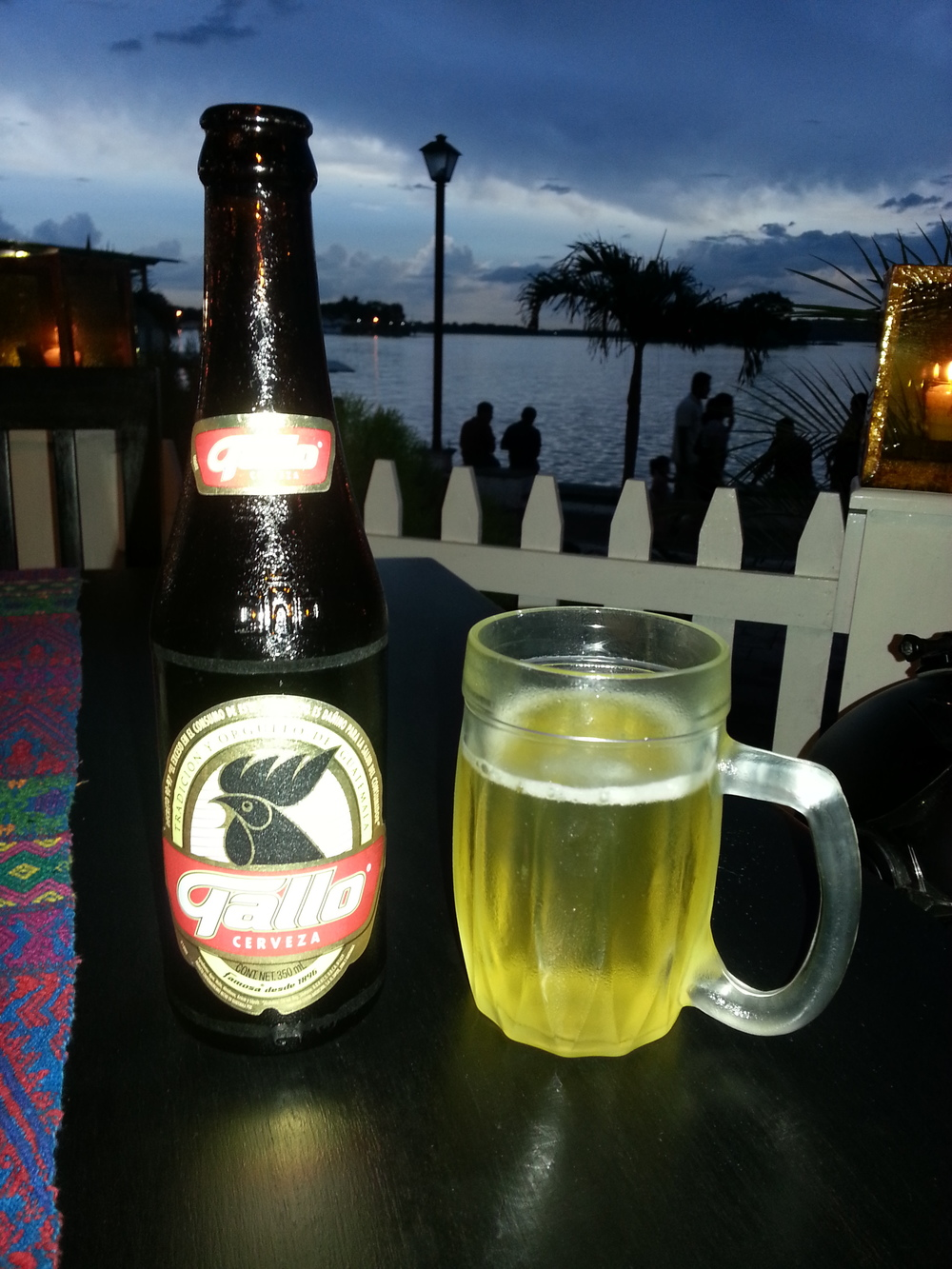 Guatemalan beer with....