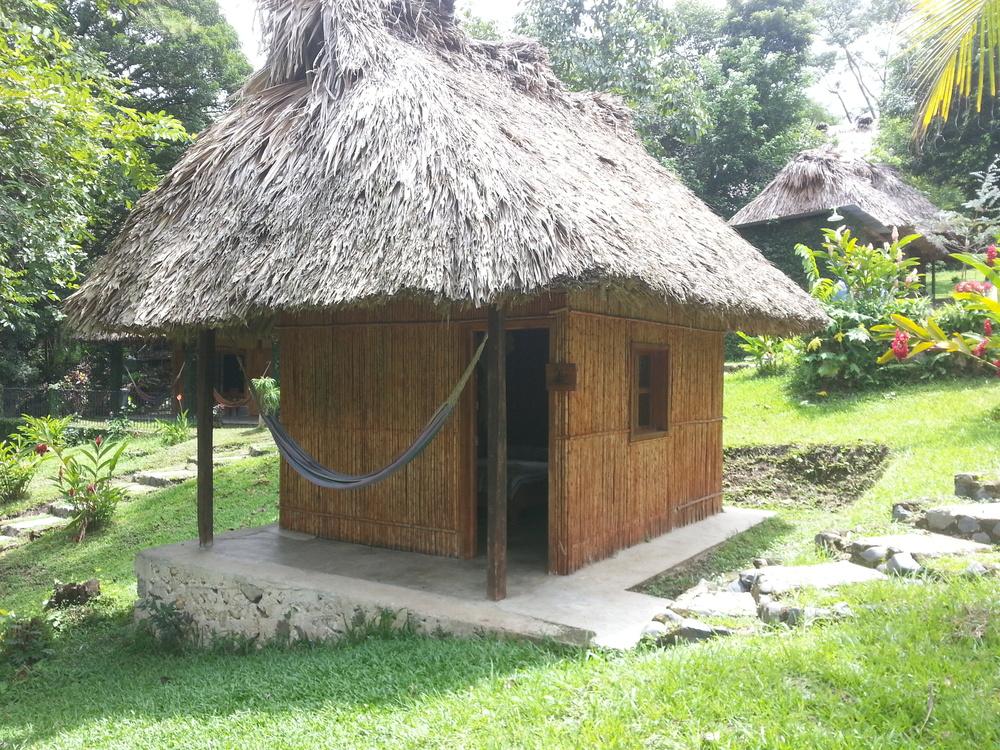 My little cabana at the Retiro