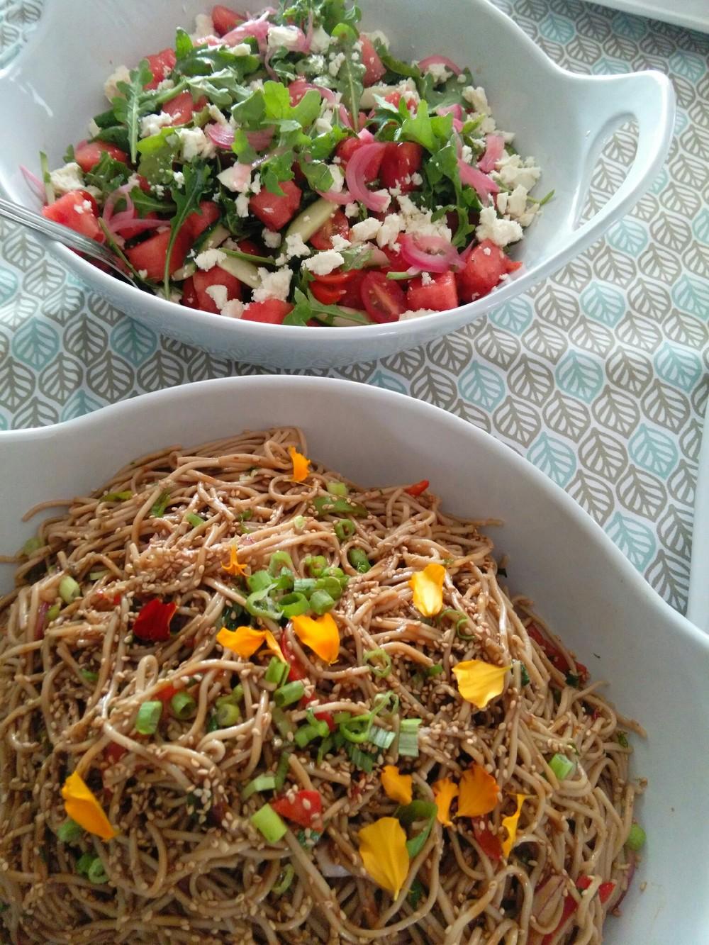 Soba Noodle & Summer Salad