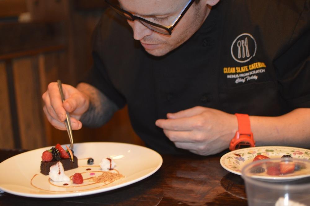 Chef Teddy Menus from Scratch