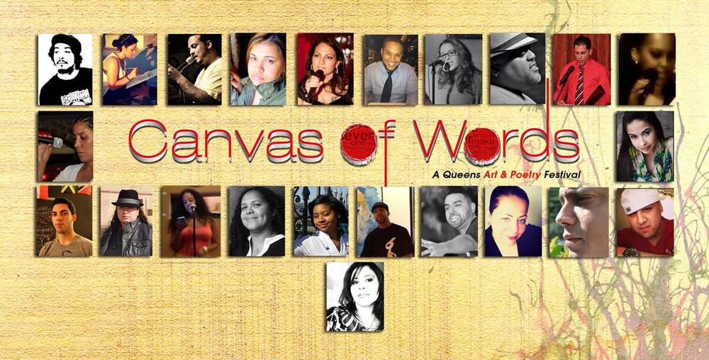 Canvas of Words Flyer