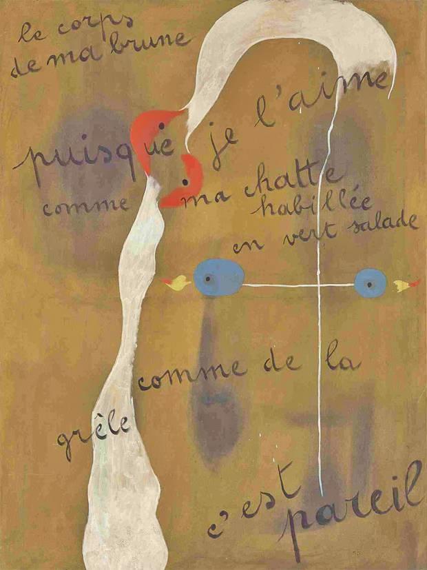 Joan Miro Painting 1