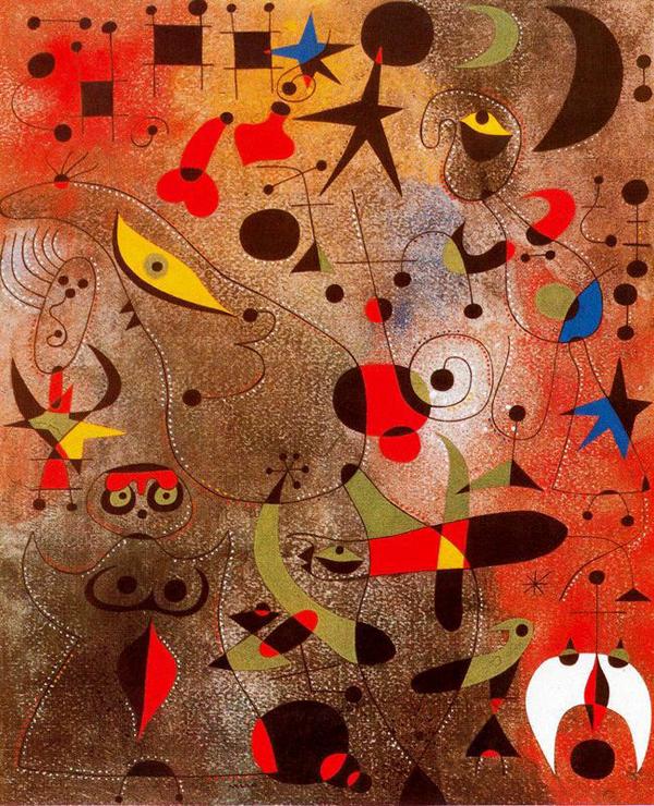 Joan Miro Painting 2