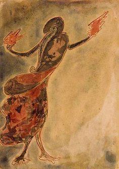 Rabindranath Tagore painting 1