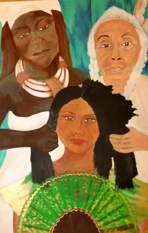 Tribal Braid by Nia Andino