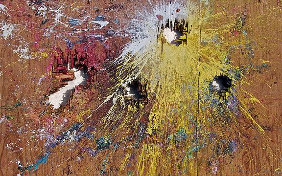 William S Burroughs shotgun art