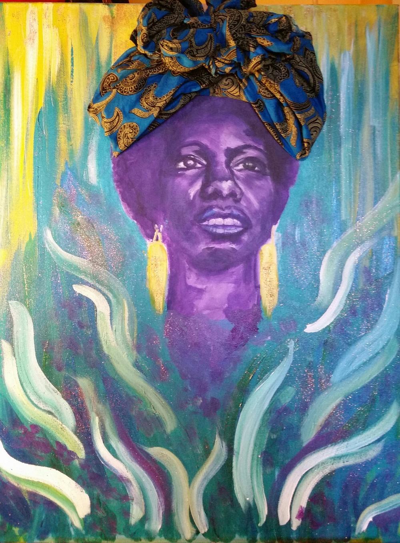 Liberian Calypso by Nia Andino