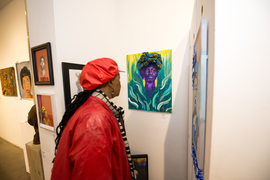 Liberian Calypso painting by Nia Andino
