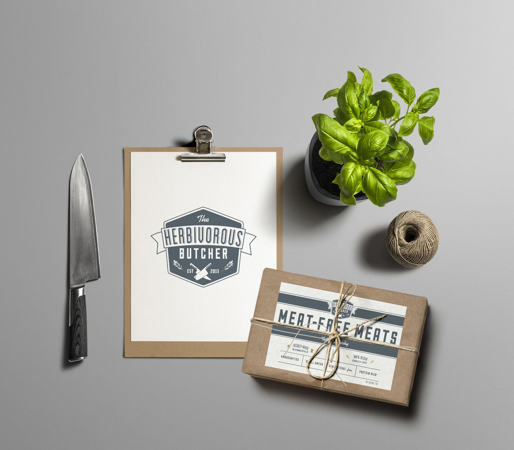 The Herbivorous Butcher Branding