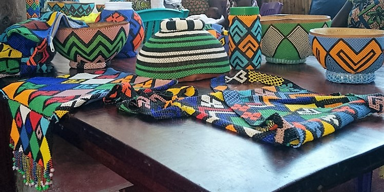 The above are products made by Akwar at the ROOTS Centre in Juba.