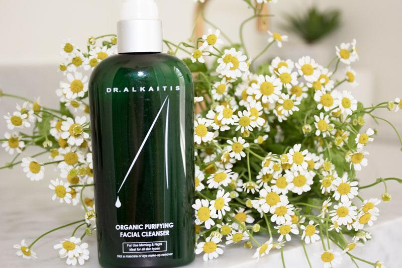 STEP 1: CLEANSE WITH  DR. ALKAITIS PURIFYING CLEANSER