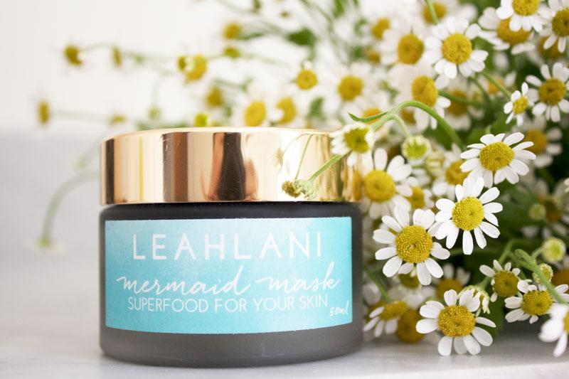 WEEKEND BOOSTER STEP: EXFOLIATE AND PAMPER WITH  LEAHLANI MERMAID MASK