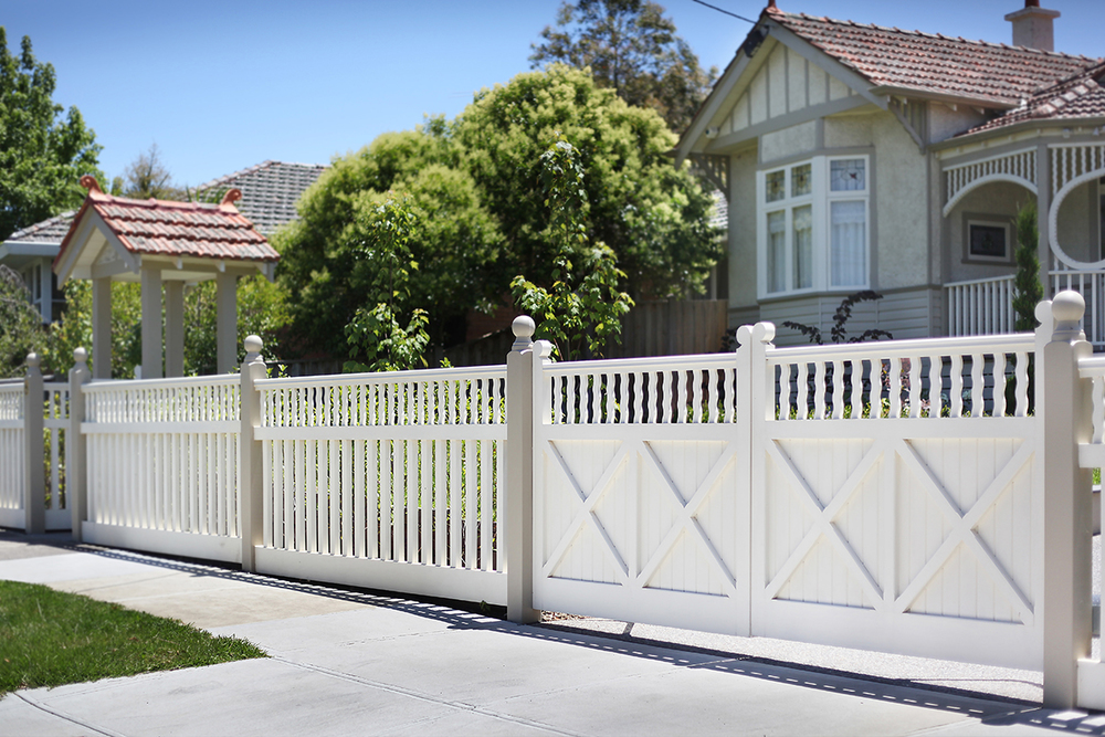 Decorative Timber Fences