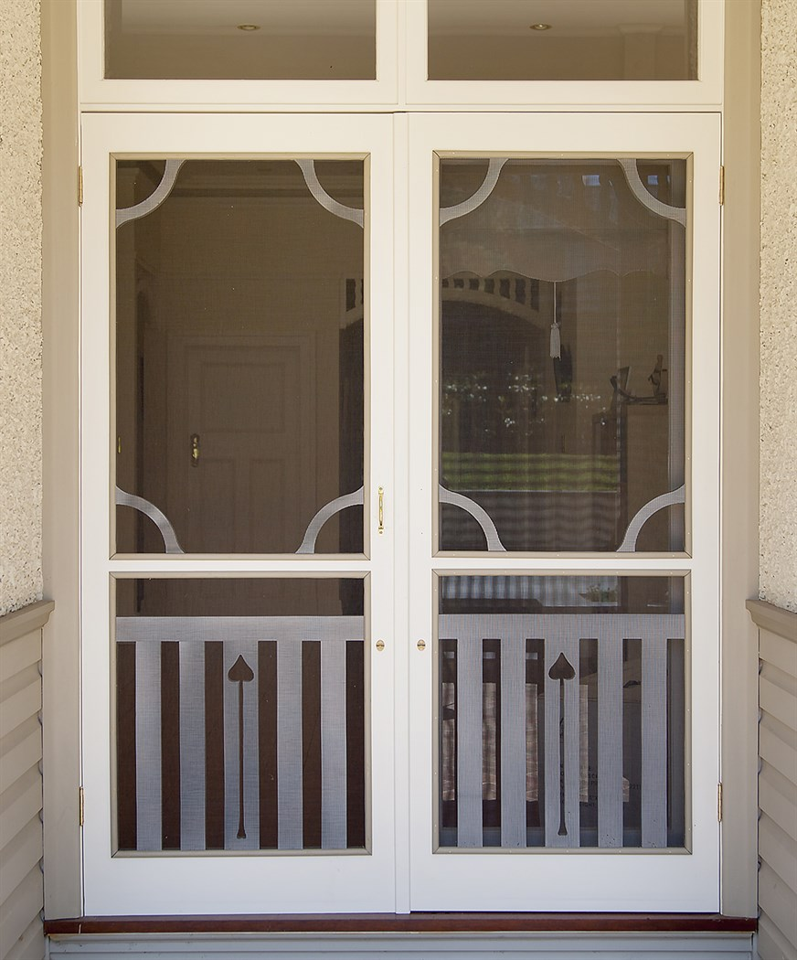 Period Timber Screen Doors