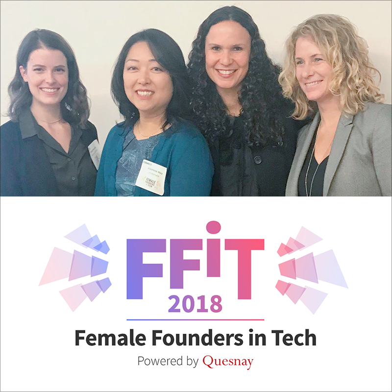 Female Founders in Tech highlights and supports female entrepreneurs across verticals, including the continuing focus on FinTech and InsurTech