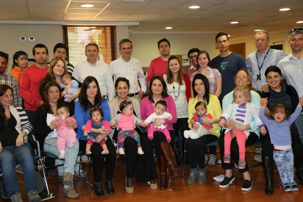 Primer encuentro de pacientes de cirugía intrauterina CLC (foto CLC)