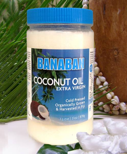 Banaban cold pressed, Organically grown and harvested, Extra Virgin Coconut Oil