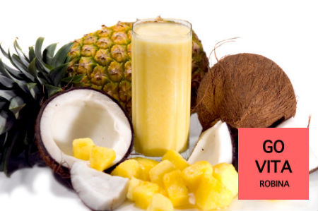 pineapple aloe vera detox smoothie