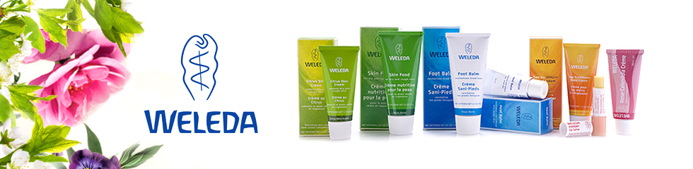 Weleda natural skin care products