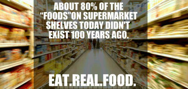 eat real food