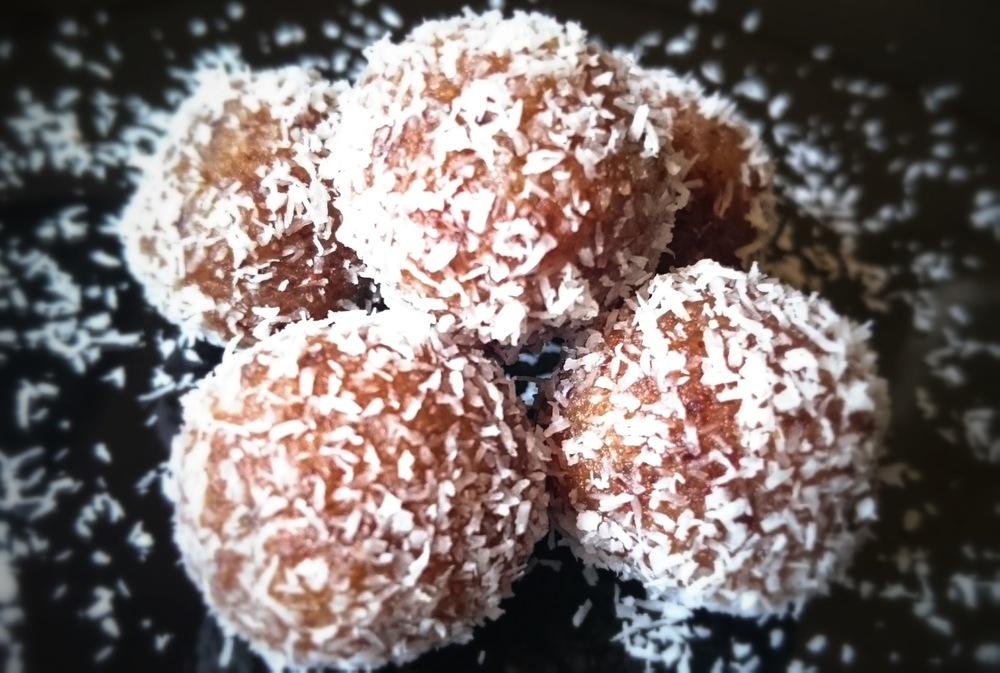 Apricot Coconut Balls