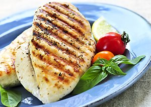 chicken for a flat tummy